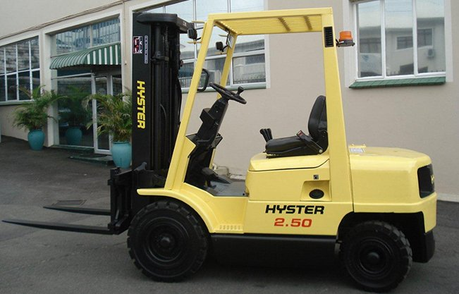 second hand used forklifts